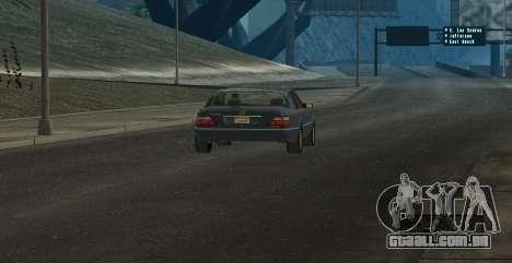 ENB Series for SA:MP para GTA San Andreas quinto tela