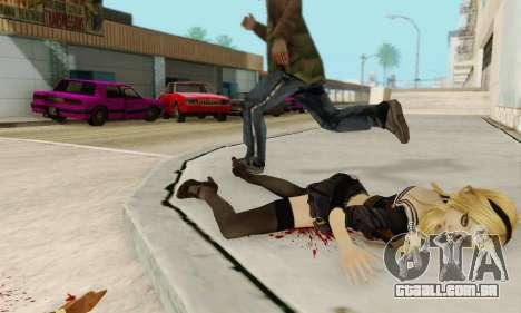 Babydoll Skin para GTA San Andreas nono tela