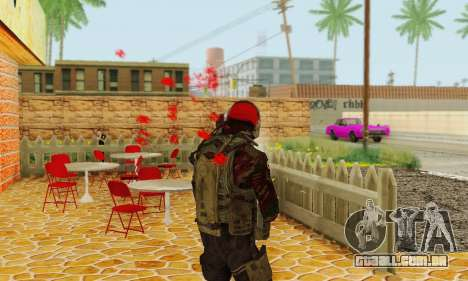 Blood On Screen para GTA San Andreas terceira tela