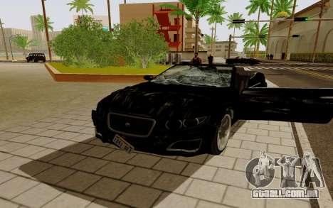 GTA 5 Lampadati Felon GT V1.0 para GTA San Andreas esquerda vista