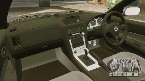 Nissan Skyline GT-R NISMO S-tune Amuse Carbon R para GTA 4 vista interior