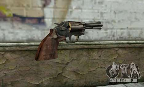 ManHunt revolver para GTA San Andreas segunda tela