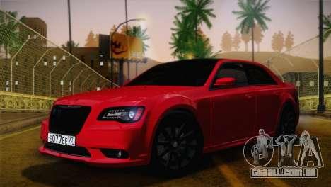 Chrysler 300 SRT8 Black Vapor Edition para GTA San Andreas vista interior