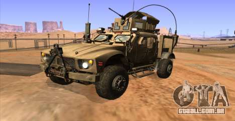 M-ATV из Call of Duty: Ghosts para GTA San Andreas