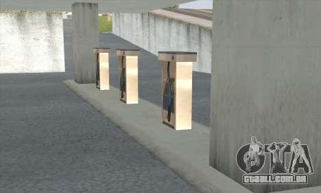 Preencher o estilo de todo o governo para GTA San Andreas nono tela