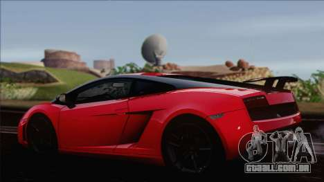 Lamborghini Gallardo LP570-4 Edizione Tecnica para GTA San Andreas esquerda vista