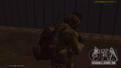 Ranger из Call Of Duty: Ghosts para GTA San Andreas quinto tela