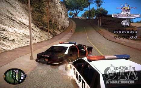 C-HUD JDM para GTA San Andreas por diante tela