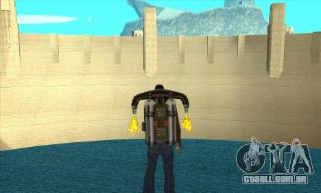 Nova represa Sherman para GTA San Andreas segunda tela