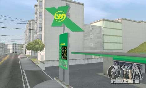 Preencher o estilo de todo o governo para GTA San Andreas sexta tela