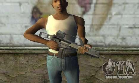 HK G36 para GTA San Andreas terceira tela
