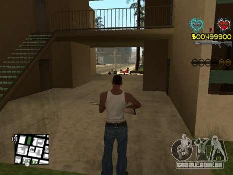 C-HUD Guns para GTA San Andreas oitavo tela