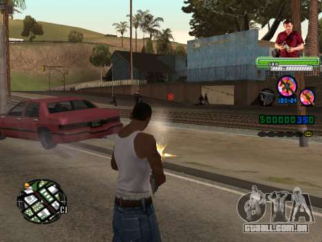 C-HUD Michael (GTA V) para GTA San Andreas segunda tela