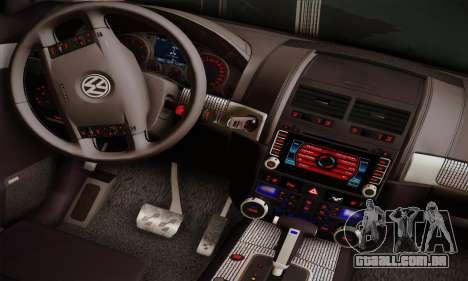 Volkswagen Touareg 2010 para GTA San Andreas vista traseira