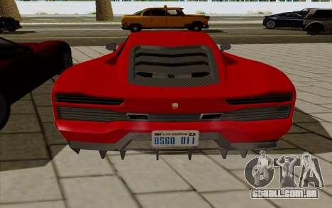 GTA 5 Pegassi Vacca para GTA San Andreas vista direita