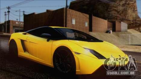 Lamborghini Gallardo LP570-4 Edizione Tecnica para GTA San Andreas vista interior