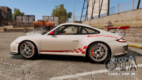 Porsche 997 Carrera GT3 RS para GTA 4 esquerda vista