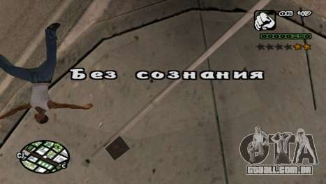 Nova fonte V.2 para GTA San Andreas sétima tela
