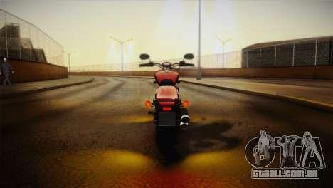 Yamaha Star Stryker 2012 para GTA San Andreas vista interior
