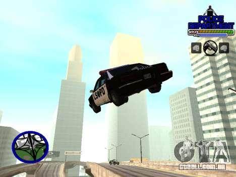 С-Hud Do Departamento De Polícia De para GTA San Andreas terceira tela
