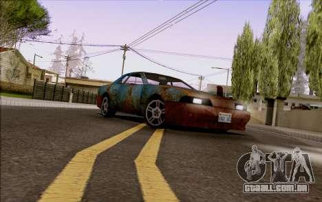 Elegy by Swizzy para GTA San Andreas traseira esquerda vista