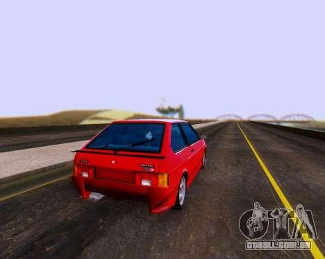 VAZ 2108 Tuneable para GTA San Andreas
