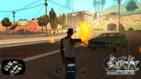 C-HUD Kings of Rap para GTA San Andreas sexta tela