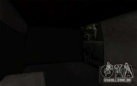 S.W.A.T van para GTA San Andreas vista direita