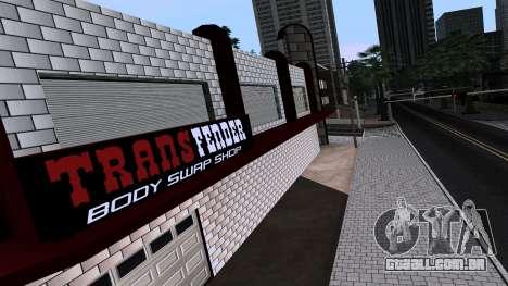 New TransFender para GTA San Andreas terceira tela