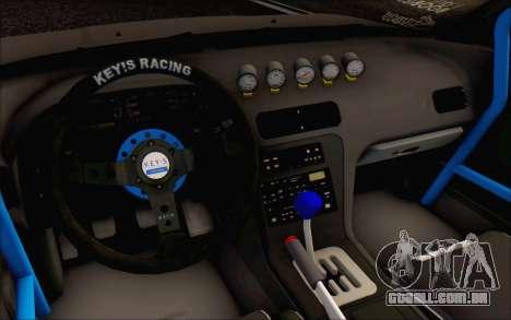 Nissan Silvia S13 Vertex para GTA San Andreas vista traseira