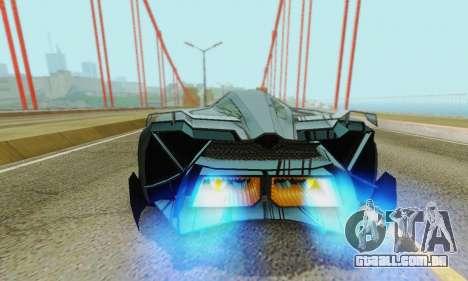 Lamborghini Egoista para o motor de GTA San Andreas