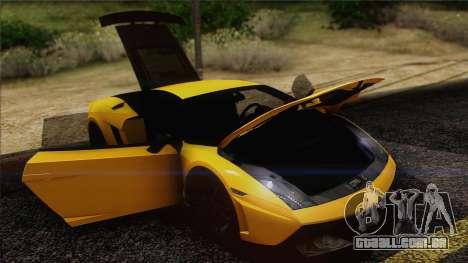 Lamborghini Gallardo LP570-4 Edizione Tecnica para GTA San Andreas interior