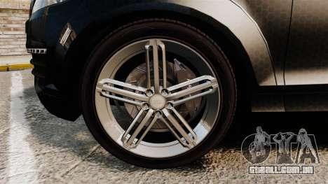 Audi Q7 TEK [ELS] para GTA 4 vista de volta