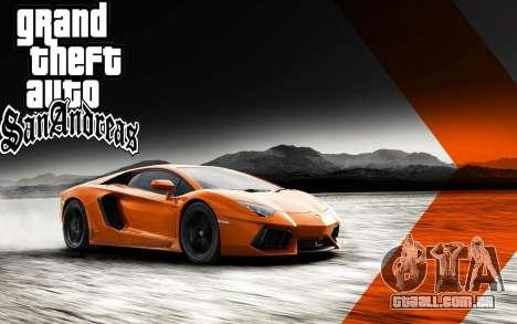 Novo arranque telas Ultra HD (3840x2160) para GTA San Andreas