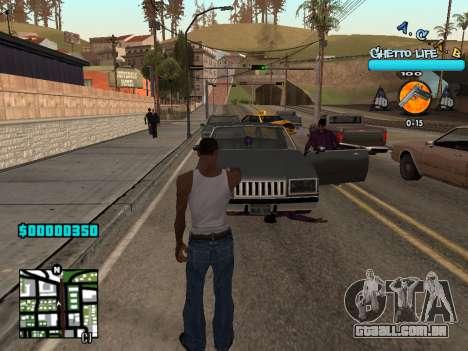 C-HUD new A.C.A.B para GTA San Andreas segunda tela