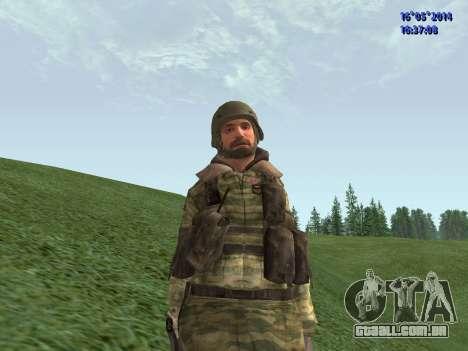 Militar camuflagem para GTA San Andreas