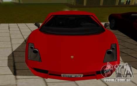 GTA 5 Pegassi Vacca para GTA San Andreas traseira esquerda vista