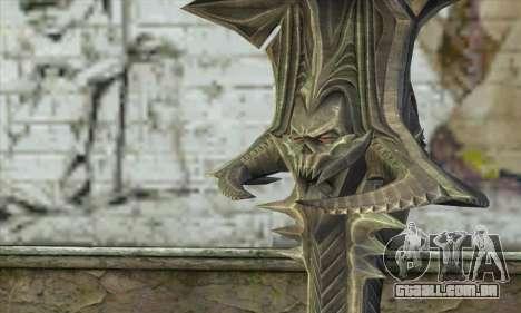 Daedric Sword para GTA San Andreas segunda tela