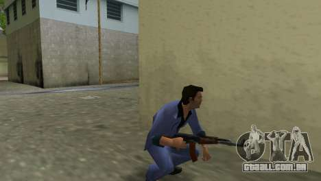 Kalashnikov Modernizado para GTA Vice City quinto tela