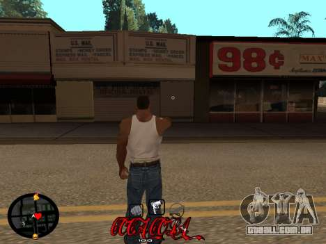C-HUD Coca-Cola para GTA San Andreas segunda tela