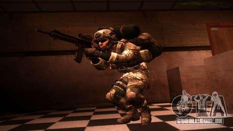 Ranger из Call Of Duty: Ghosts para GTA San Andreas