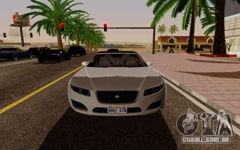 GTA 5 Lampadati Felon GT V1.0 para GTA San Andreas vista direita