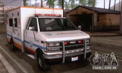 GTA 5 Ambulance para GTA San Andreas