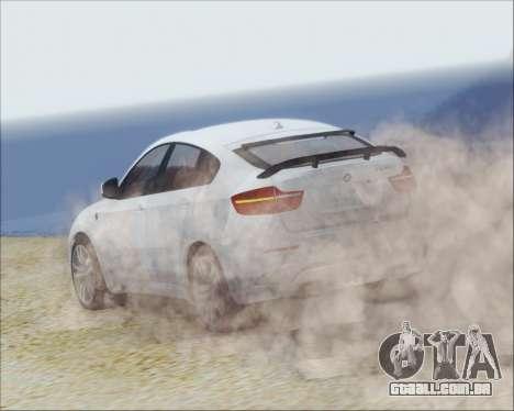 BMW X6 M 2013 Final para GTA San Andreas vista direita