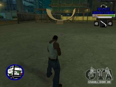 С-Hud Do Departamento De Polícia De para GTA San Andreas