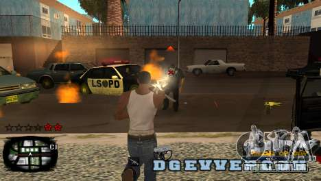 C-HUD Kings of Rap para GTA San Andreas segunda tela