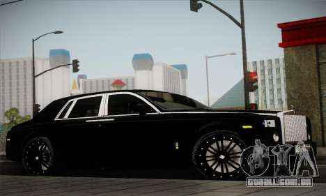 Rolls-Royce Phantom para GTA San Andreas vista direita