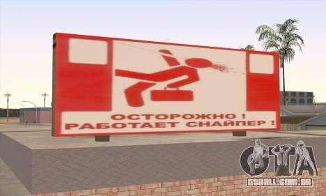 Loja De Alimentos Saudáveis para GTA San Andreas terceira tela