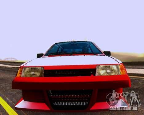 VAZ 2108 Tuneable para as rodas de GTA San Andreas
