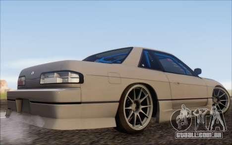 Nissan Silvia S13 Vertex para GTA San Andreas esquerda vista